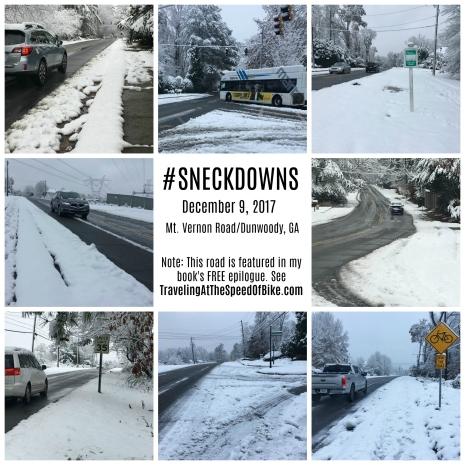 Sneckdowns